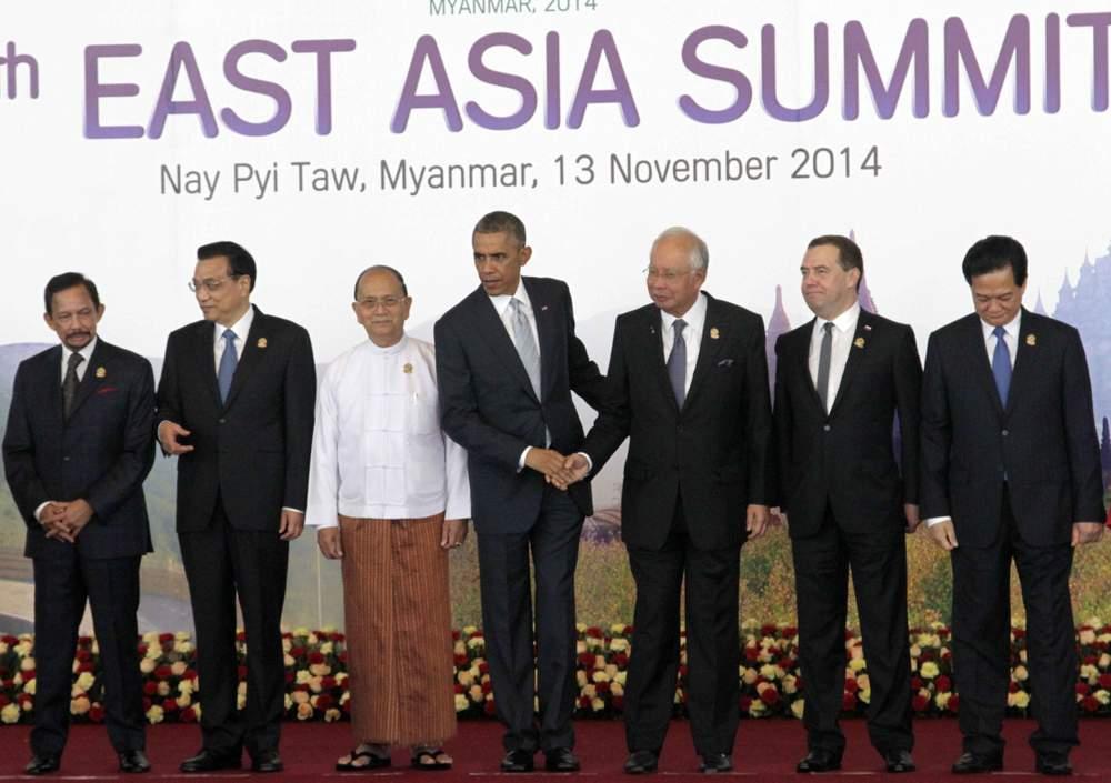 <em>President Obama at the 2014 East Asia Summit</em>